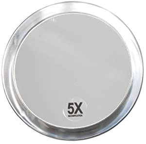 Fantasia 1355 miroir grossissant x 5 2 ventouses - Amazon miroir grossissant ...
