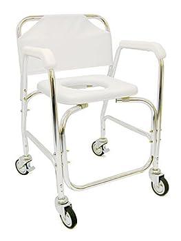 DMI Shower Transport Chair by Mabis DMI