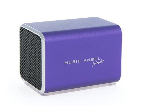 Music Angel Friendz Portable Speaker (Purple)