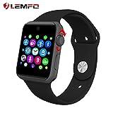 LEMFO LF07スマートウォッチ 腕時計 Android IOS両対応 歩数計 睡眠計 着信知らせ アプリ通知