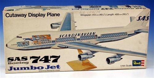 Revell-50-Jahre-Revell-Jubilumsartikel-H-177-Boeing-747-mit-Interieur-im-Mastab-1144