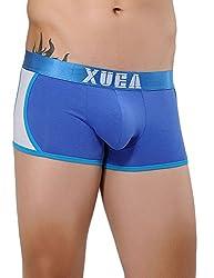 Xuba Men's Cotton Trunk (XB1411211007_Blue_XL)