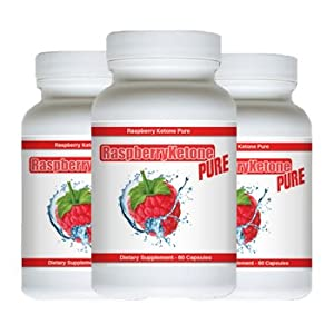 Raspberry Ketone Pure - Natural Weight Loss Formula - 180 Capsules