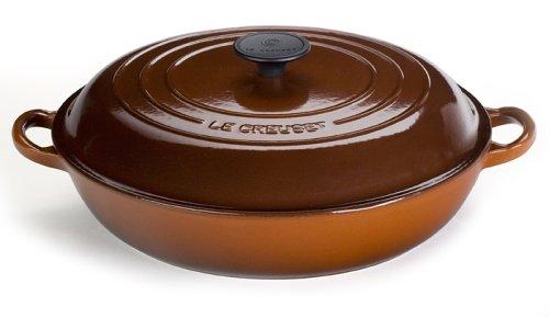 Le Creuset 3-1/2-Quart Enameled Cast-Iron Buffet Casserole, Chestnut - Buy Le Creuset 3-1/2-Quart Enameled Cast-Iron Buffet Casserole, Chestnut - Purchase Le Creuset 3-1/2-Quart Enameled Cast-Iron Buffet Casserole, Chestnut (Le Creuset, Home & Garden, Categories, Kitchen & Dining, Cookware & Baking, Baking, Bakers & Casseroles)