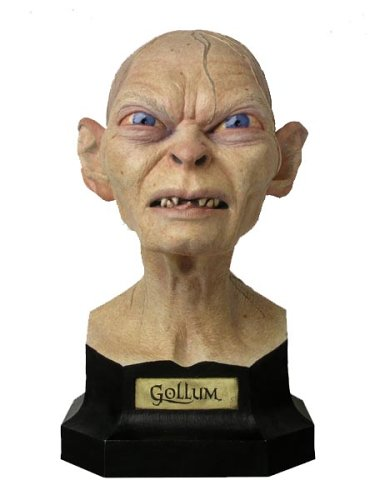 Picture of Sideshow Lord of the Rings Gollum 3/4 Bust Figure Sideshow Lotr - Sold Out Hard to Get (B000BWBWMM) (Sideshow Action Figures)