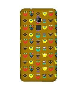 Beard-Colour-16 HTC One Max Case