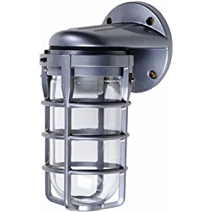 Designers Edge L1707 Outdoor Weatherproof Industrial Wall Mount Light ...