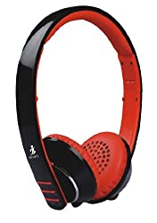 Smart Wildfire Bluetooth Stereo Headset with iblue technology (Black)