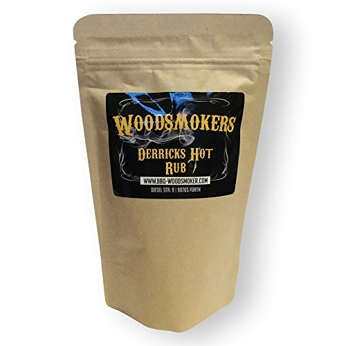 Woodsmokers BBQ Derricks Hot Rub 150g