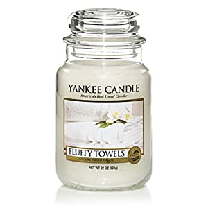 Yankee Candle Large Fluffy Towels Jar Candle 1205376E from Yankee Candles
