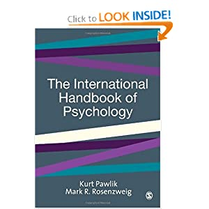 The International Handbook of Psychology