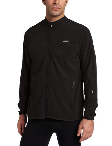 ASICS Asics Men's Peak Trail Jacket, Medium, Black
