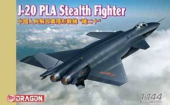 Dragon Models 1/144 J-20 PLA Stealth Fighter