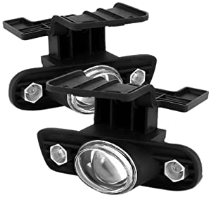 Spyder Auto FL-P-CS99-HL Chevy Silverado/Suburban Clear Halogen Projector Fog Light