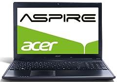 Acer Aspire Style 5755G-52458G50Mtks 39,6 cm (15,6 Zoll) Notebook (Intel Core i5 2450M, 2,5GHz, 8GB RAM, 500GB HDD, NVIDIA GT 630M-2GB, DVD, Win 7 HP) schwarz ab 599,- Euro inkl. Versand