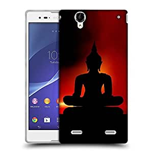 Snoogg Lord Buddha Designer Protective Back Case Cover For Sony Xperia T2 Ultra