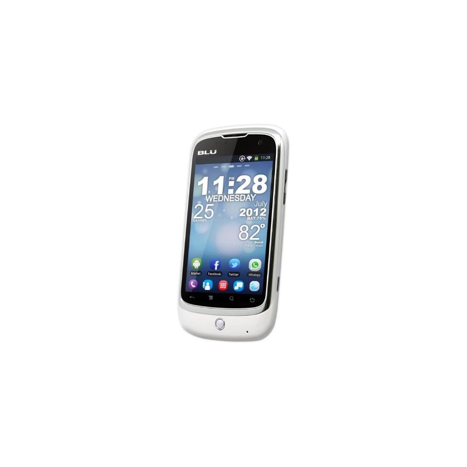 BLU D200 Magic   Unlocked Phone   US Warranty   Retail Packaging   White