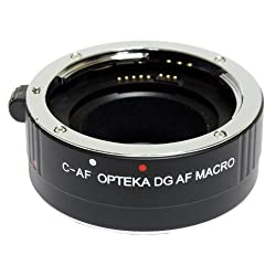 Opteka 25mm Auto Focus DG EX Macro Extension Tube for Canon EOS DSLR Camera