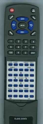 Ilive Replacement Remote Control For It082B