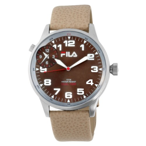 Fila Men's 404-02 3 Hands Dual Time Commuter Watch