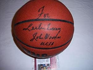 John Wooden Ucla Bruins, Hof Jsa coa Signed Basketball - Autographed College... by Sports+Memorabilia