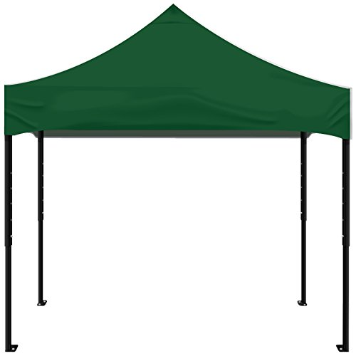 Kd Kanopy Psk100G Party Shade Steel Frame Indoor/Outdoor Portable Canopy, 5 By 5-Feet, Green