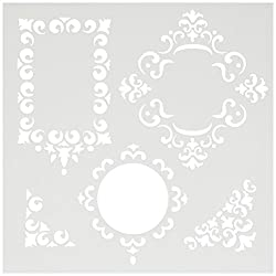 Crafters Workshop Templates 6X6-Fancy Frames