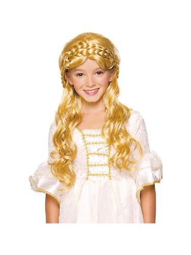 Girl's Blonde Enchanted Wig