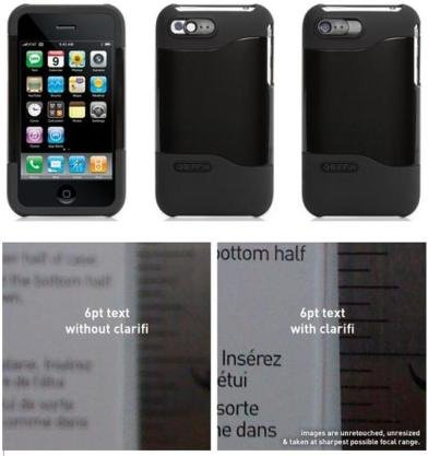 GRF-CLARIFI-IP Griffin Technology Clarifi for iPhone 3G Black ケース メーカー型番 GB01171