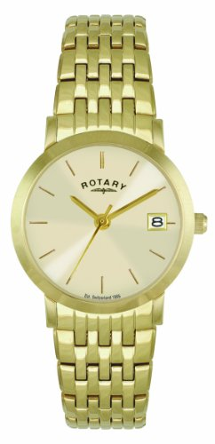 Rotary LB02624/03 Ladies Gold PVD Bracelet Watch