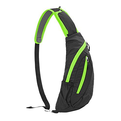 Himal Hm2308 Big Capacity Multipurpose Sports Fashion Men Satchel Shoulder Bag New Tide Chest Pack Waterproof Light Crossbody Bag Sports Waist Bag, Gift Idea(Green)