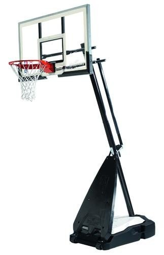 Spalding NBA Ultimate Hybrid Portable (71-674CN)-trasparente, 54