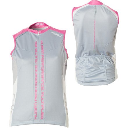 Image of 2XU Elite Sublimated Jersey - Sleeveless - Women's (B004HDH8LK)