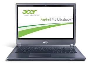 Acer Aspire M5-481TG-53314G12Mass 35,6 cm (14 Zoll) Ultrabook (Intel Core i5 3317U, 1,7GHz, 4GB RAM, 128GB SSD, NVIDIA GT 640M LE, DVD, Win 8) silber