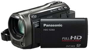 Panasonic HDC-SD60 Caméscope  à carte mémoire SD Port SD Full HD Zoom 35 x Noir