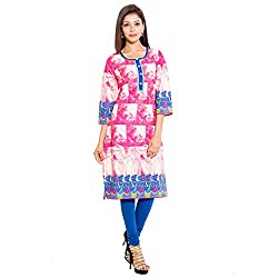BELOMODA Women's Ideal Cotton Kurta