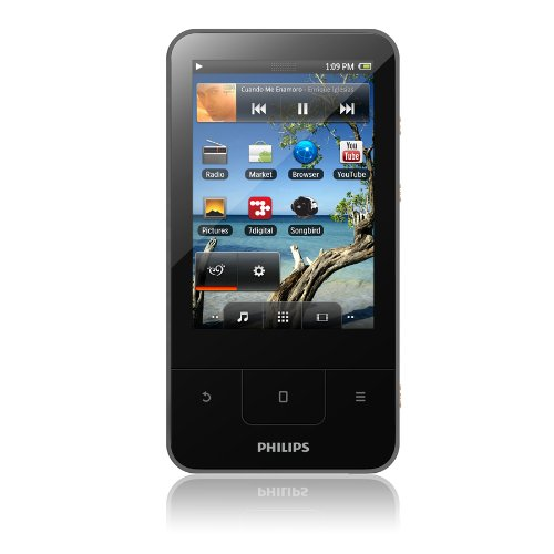 Philips Android Connect 16 GB Touchscreen MP3