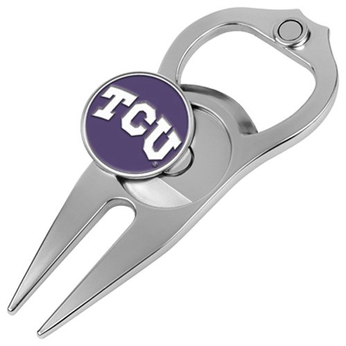 Hat Trick Openers 5-in-1 Divot Tool, Texas Christian Horned Frogs (Club America Bottle Opener compare prices)