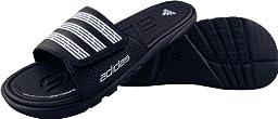 adidas Performance Men\'s adiLight Slide Supercloud Sandal,Black/White/Black,6 M US