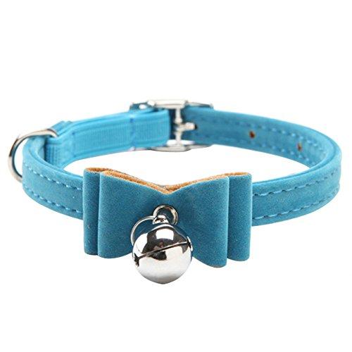 Artikelbild: Haustier Katze halsband Halskette Halsband mit Glöckchen in 6 Farben K6A-11