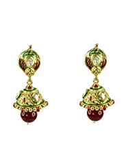 BGS Style Diva Gold Plated Metal Earring For Women - B00L2EJQZ8