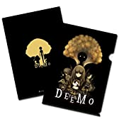 Deemo GOODS COLLECTION クリアファイル/A ブラック 【東方Projectキャラ缶バッジ 博麗霊夢付】