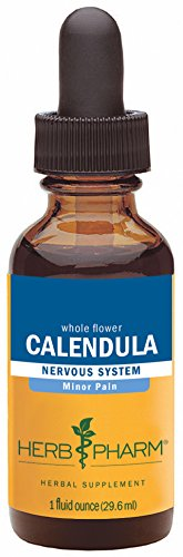 Herb Pharm Certified Organic Calendula Extract for Minor Pain Support - 1 Ounce