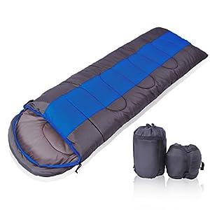 YOTECE 寝袋 シュラフ 封筒型 軽量 コンパクト収納