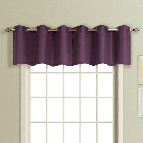 56 by 84-Inch Editex Home Textiles Scala Window Panel Navy