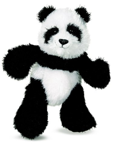 Webkinz Black And White Panda Plush