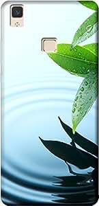 Fashionury Printed Soft Back Case Cover For Vivo V3 Max-Print420057