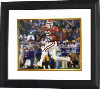 Darren McFadden Signed Picture - Arkansas Razorbacks 8x10 Custom Framed Hologram - Autographed College Photos at Amazon.com