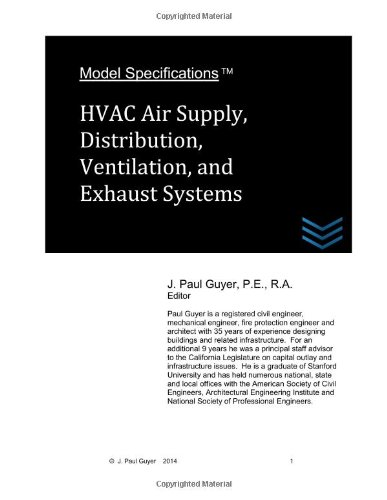 Model Specifications: Hvac Air Supply, Distribution, Ventilation, And Exhaust Systems (Volume 6)