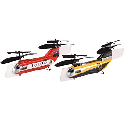 how to make a rc helicopter fly upside down